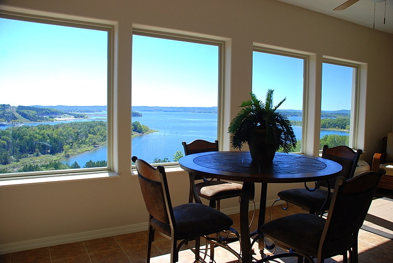 Photo 6: Sunroom Overlooking Main Channel Of Table Rock Lake