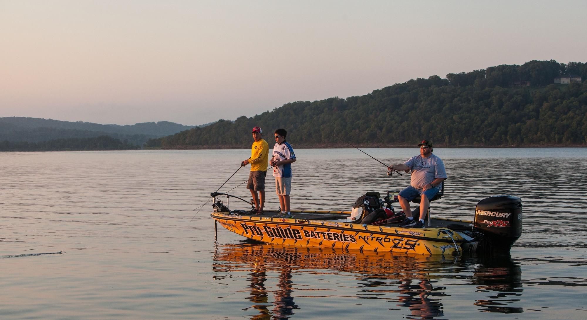 A fun family getaway in branson mo for Table rock lake fishing